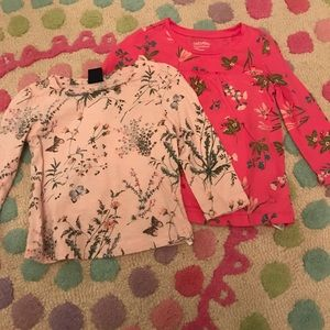 Two Baby Gap Cotton Shirts